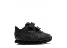 St Runner V2 Bebek Siyah Spor Ayakkabı