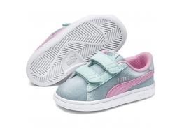 Puma Smash V2 Glitz Glam Bebek Ayakkabı