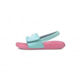 Popcat 20 Backstrap Çocuk Pembe Sandalet (380555-08)