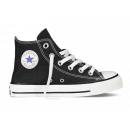 Chuck Taylor All Star Çocuk Siyah Uzun Spor Ayakkabı