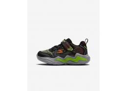 S Lights®-Erupters Iv Çocuk Siyah Spor Ayakkabı (400125N BKLM)