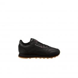 Classic Leather Kadın Siyah Spor Ayakkabı
