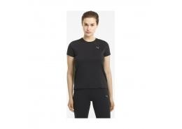 Run Favorite Heather Kadın Siyah Tişört (520182-01)