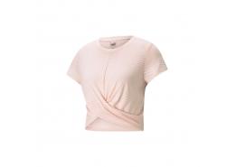 Studio Twist Burnout Kadın Pembe Tişört (520228-27)