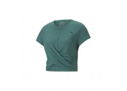 Studio Twist Burnout Kadın Yeşil Tişört (520228-45)
