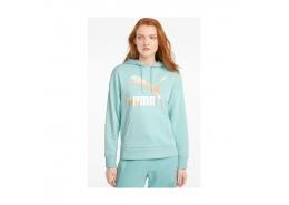 Puma Classics Logo Kadın Mavi Sweatshirt (530075-76)