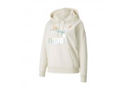 Puma Classics Logo Kadın Beyaz Sweatshirt (530075-88)