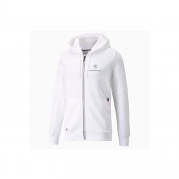 BMW M Motorsport Erkek Beyaz Kapüşonlu Sweatshirt (531187-02)