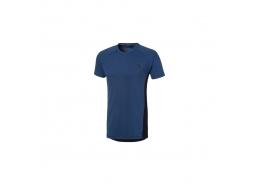 Puma Evostripe Erkek Mavi Spor Tişört