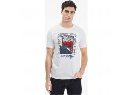 Puma Photo Erkek Beyaz Spor Tişört