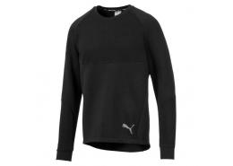 Puma Evostripe Crew Erkek Siyah Sweatshirt