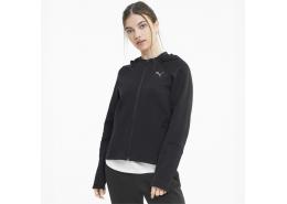 Evostripe Kadın Siyah Spor Sweatshirt