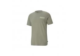 Puma Modern Basics Erkek Yeşil Tişört (585792-73)