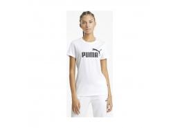 Essential Logo Kadın Beyaz Tişört (586774-02)