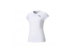 Active Short-Sleeve Kadın Beyaz Tişört (586857-02)