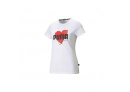 Heart Kadın Beyaz Tişört (587897-02)