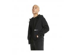 RAD/CAL Erkek Siyah Fermuarlı Sweatshirt (589388-01)