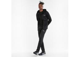 Evostripe Warm Full-Zip Erkek Siyah Sweatshirt (589441-01)