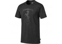 Ferrari Big Shield Erkek Siyah Tişört
