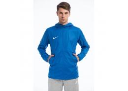Team Sideline Rain Erkek Mavi Yağmurluk Ceket