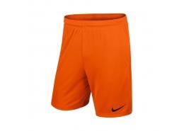 Nike Park II Knit Erkek Turuncu Futbol Şortu (725887-815)