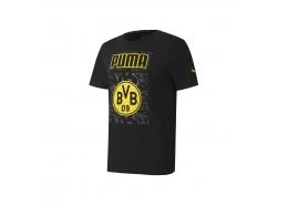 Bvb Ftblcore Graphic Erkek Siyah Tişört