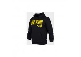 Bvb Ftblcore Wording Erkek Siyah Sweatshirt