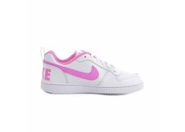 Court Borough Low Beyaz Kız Çocuk Spor Ayakkabı