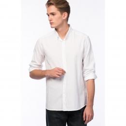 Uzun Kollu Erkek Beyaz Gömlek (8802017-620)