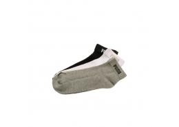 Quarter V 3'lü Kısa Spor Çorap