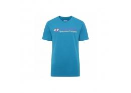 Csc M Brand Retro Erkek Mavi Tişört