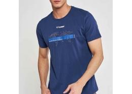 Oterup Erkek Mavi Tişört