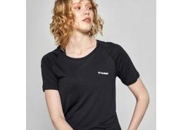 Selina Kadın Siyah Spor Tişört