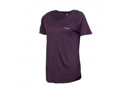 Selina Kadın Mor Spor Tişört