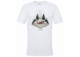 Spear Landscape Erkek Beyaz Tişört