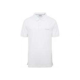 Cascade Range Solid Erkek Beyaz Polo Yaka Tişört