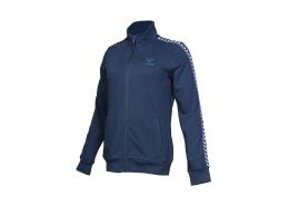 Marcello Kadın Mavi Fermuarlı Sweatshirt