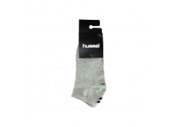 Midi 2'li Kısa Gri Spor Çorap