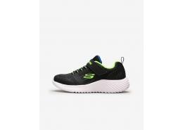 Skechers Bounder-Zallow Çocuk Siyah Spor Ayakkabı (98302L BBLM)