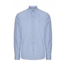 Baskılı Düğmeli Yaka Slim Fit Erkek Gömlek (A92S2237-02)