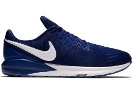Air Zoom Structure 22 Erkek Mavi Spor Ayakkabısı