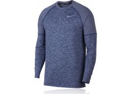 Nike Element Crew Erkek Mavi Koşu Üstü