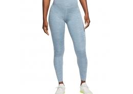 One Kadın Mavi Yüksek Bel Spor Tayt