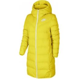 Sportswear Windrunner Down Fill Kadın Sarı Parka