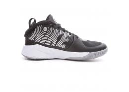 Team Hustle D 9 Çocuk Siyah Basketbol Ayakkabısı