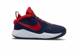 Team Hustle D 9 Çocuk Mavi Basketbol Ayakkabısı (AQ4224-403)