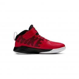 Team Hustle D 9 Çocuk Kırmızı Basketbol Ayakkabısı