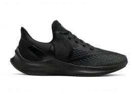 Zoom Winflo 6 Kadın Siyah Koşu Ayakkabısı (AQ8228-004)