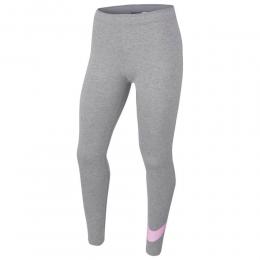 Nike Sportswear Legginsy Gri Kız Çocuk Taytı