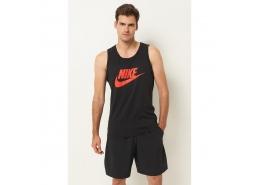 Sportswear Tank Icon Futura Erkek Siyah Antrenman Atleti